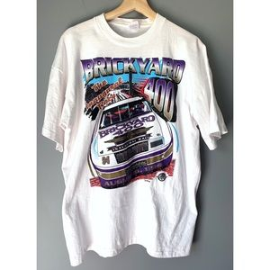 VTG 1994 Brickyard 400 Mens Nascar Shirt